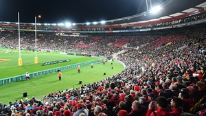 A view of the Westpac Stadium in Wellington