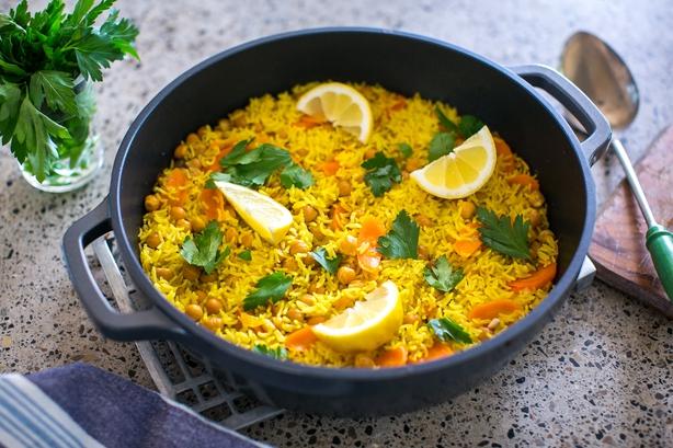 Carrot & Cumin Pilaf Rice