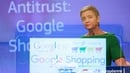 Margrethe Vestager said Google 'denied other companies the chance to compete on the merits and to innovate'