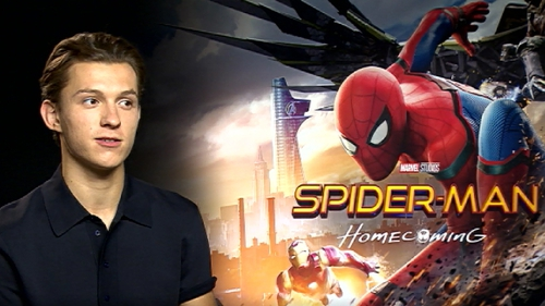 New Spider-Man Tom Holland