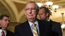 Mitch McConnell wanted the vote to be held before the 4 July recess