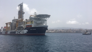 The IceMAX has now left its base in Las Palmas, Gran Canaria