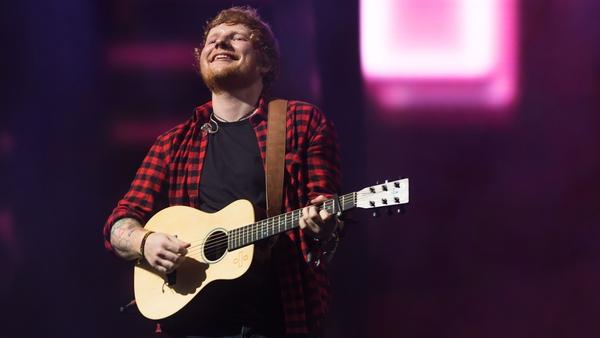 Ed Sheeran - European tour will begin with an epic Irish trek