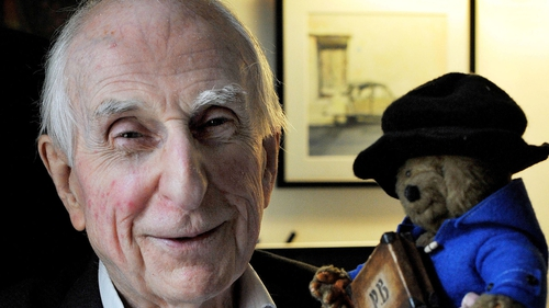 Two of the greats - Michael Bond and Paddington
