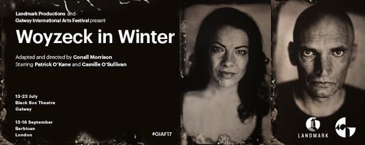 """""""Woyzeck In Winter"""", with Camille O'Sullivan and Conor Linehan, directed by Conall Morrison"""