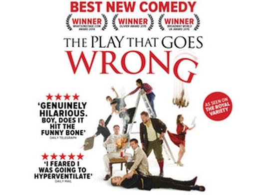 """The Play That Goes Wrong"" at the Bord Gáis Energy Theatre"