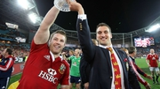 Sam Warburton will captain the Lions against New Zealand on Saturday
