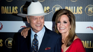 Larry Hagman and Linda Gray (pictured at the Dallas reboot launch party in London in August 2012) -
