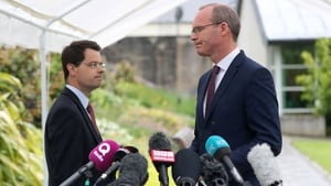 James Brokenshire's meeting with Simon Coveney comes after Britain published Brexit position papers last week