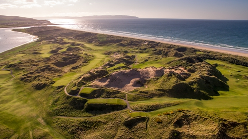 Portstewart links on the Derry coast was home to the 2017 Irish Open
