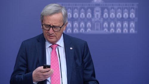 Jean-Claude Juncker is happy not to have joined the smartphone revolution