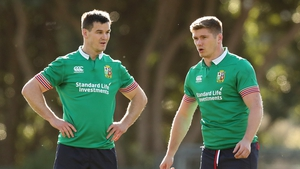Sexton is relishing the chance to play alongside Owen Farrell