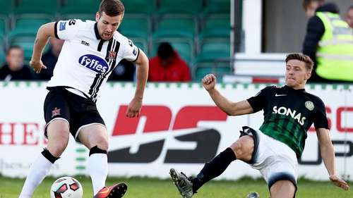 There were plenty of empty seats again at the Carlisle Grounds as Bray lost to Dundalk