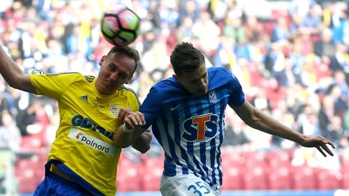 Bednarek (R) joins Southampton from Lech Poznan