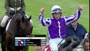 Capri landed the 2017 Irish Derby