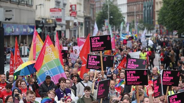 Belfast same-sex marriage march