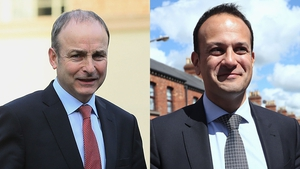 Micheál Martin has an 11-point lead over Leo Varadkar when it comes to public satisfaction with party leaders