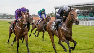 Rekindling pushed out to win the Curragh Cup at the start of July