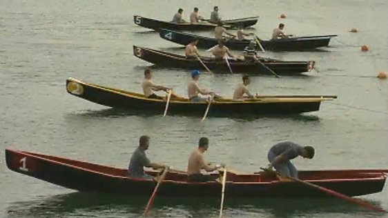 Currach Racing On The Aran Islands