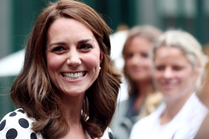 The Duchess of Cambridge visits The All England Lawn Tennis and Croquet Club.