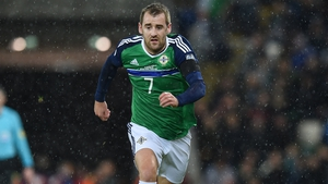 Niall McGinn and Northern Ireland will feature at the Aviva Stadium on Thursday