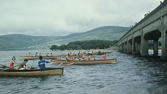 Skiff Racing in Blessington (1977)