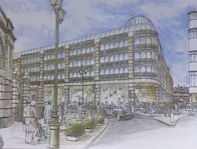 St Stephen's Green Shopping Centre, Artist Impression (1987)
