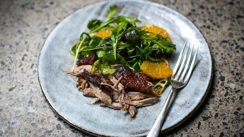 Donal Skehan's Shredded Duck & Orange Salad