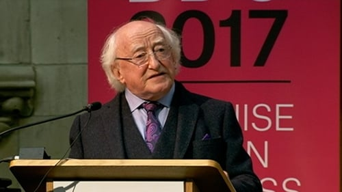 President Michael D Higgins warned that concentration of media ownership serves those who hold unaccountable power