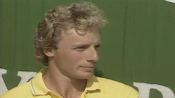 Bernhard Langer Irish Open Golf Winner 1987
