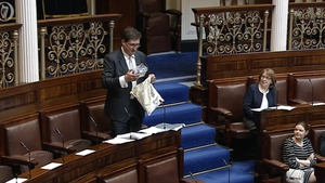 Eamon Ryan brought 'show and tell' to the Dáil