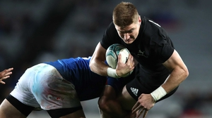 Jordie Barrett will make his first Test start for New Zealand this weekend