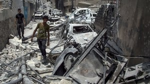 The UN says civilians caught in the middle of the battle are in 'extreme danger'