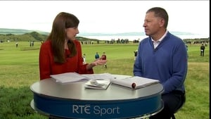 There's live TV coverage on RTÉ2
