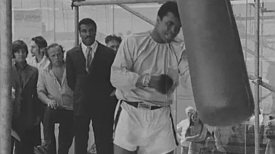 Muhammad Ali Works Out
