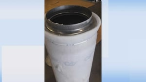 The drugs were concealed in large cylindrical air filters