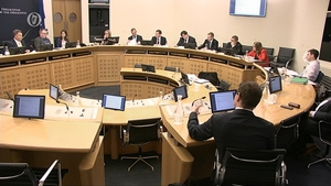 Officials at the Department of Finance appeared before the Oireachtas Public Accounts Committee