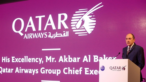 Qatar Airways boss sorry for remarks on women CEOs