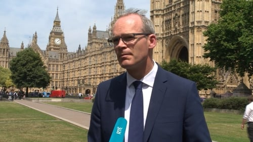 Simon Coveney said his messages have been 'clear and blunt' in terms of Ireland's concerns about Brexit