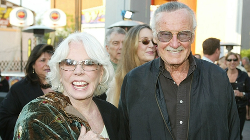 Joan and Stan Lee