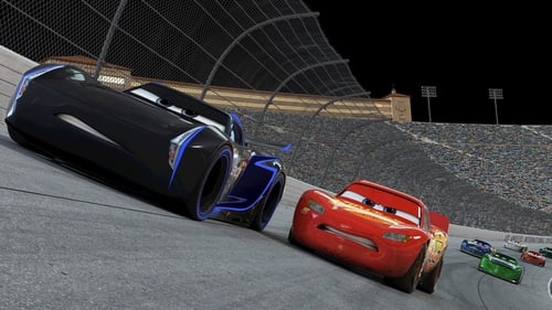 Lightning McQueen takes on a young hotshot in Cars 3