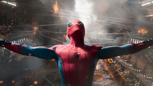 Tom Holland stars in Spider-Man: Homecoming