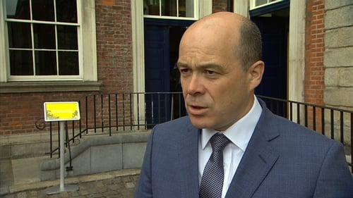 Denis Naughten outlined the latest developments but said the tendering process was proceeding