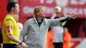 Liam Buckley wants a top four finish this season
