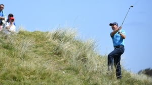Harrington saw plenty of the Portstewart links on his front nine