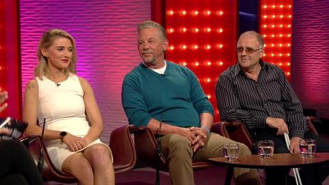 Nikki Bradley, Dean Hall and Chris Egan | Saturday Night with Miriam