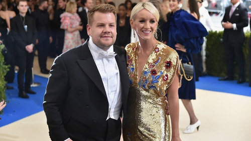 James Corden, wife expecting third child