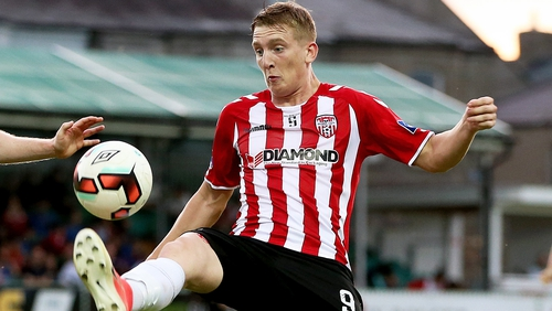 Ronan Curtis has been one of Derry City's outstanding performers