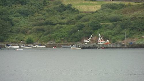 It is understood the two men left Teelin Pier in Co Donegal in a boat last night