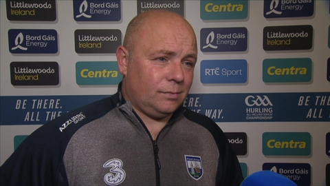 Derek McGrath hails Waterford's spirit
